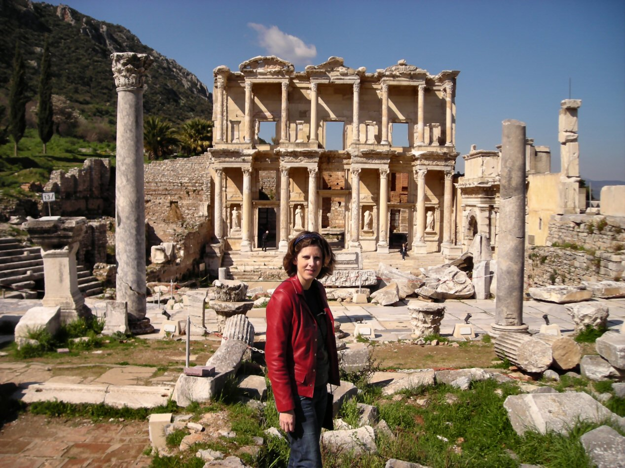 at Library of Celsus 2