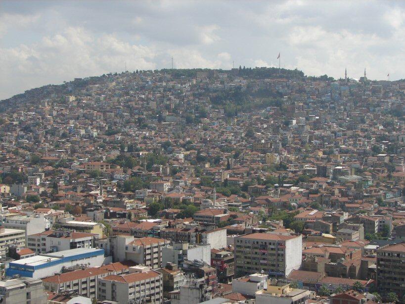 Kadefikale on Hillside above Izmir